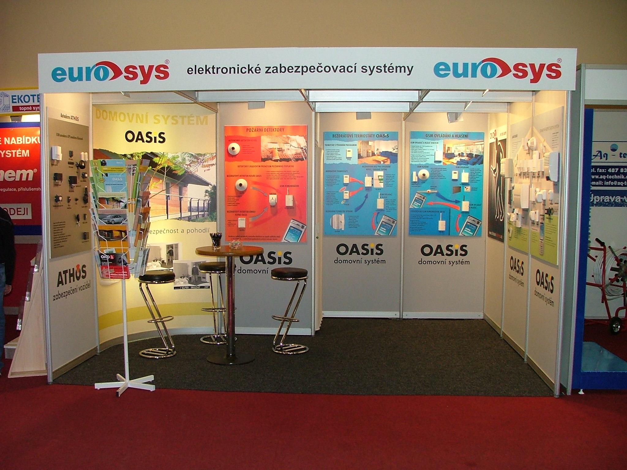 stánek EUROSYS-1